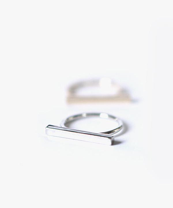 Mono Bar Ring Set