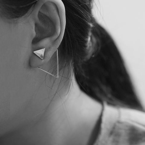 Noelle Triangular Earrings