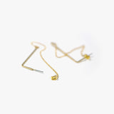 Morrie L-Chain Earring (Gold)