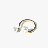 Rowie Faux Pearl Ring (Gold)