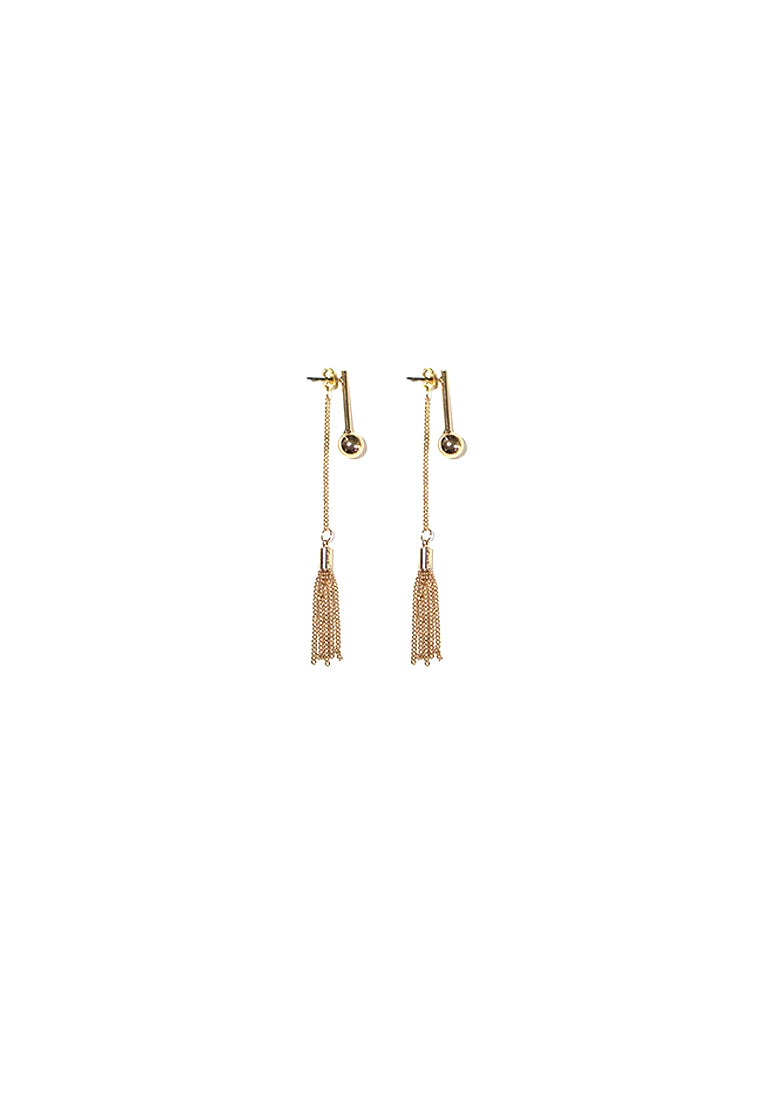 Trixie Chain Tassels Earring