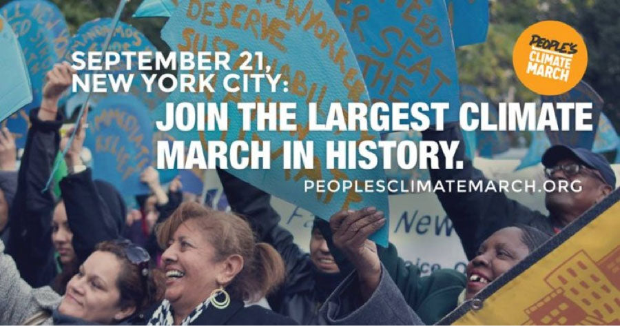 The Largest March on Climate Change