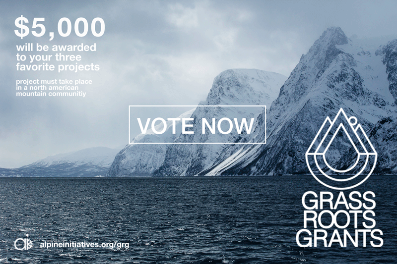 Vote Now for Grass Root Grants!