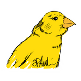 Auclair Fund: Canary Sticker Packs