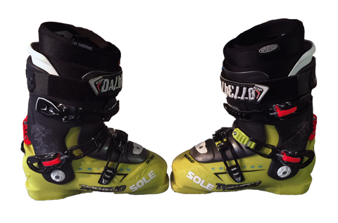 Sam Smoothy Boots and Winning Bib from the FWT