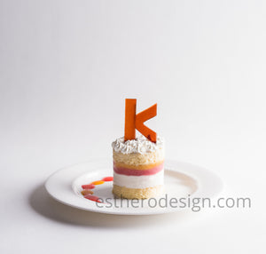 Monogram Frozen Layer Cake