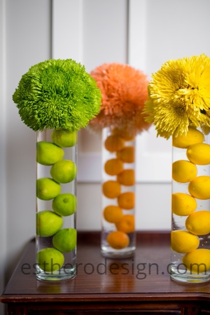 Flower Fruit Arrangements