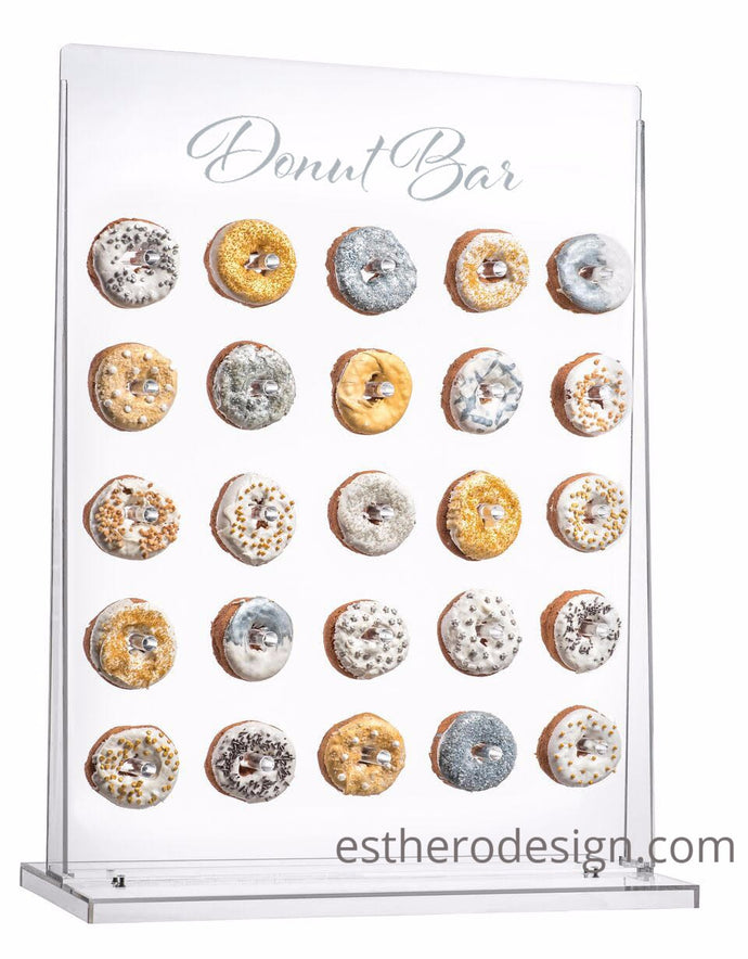 Acrylic Donut Wall Display