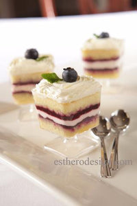 Blueberry Custard Trifle