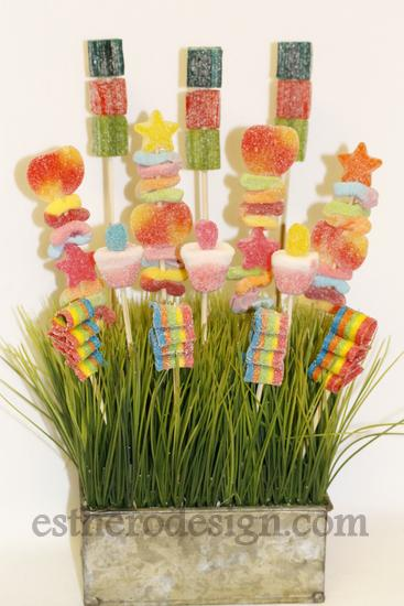 Shavuot Candy Bouquet