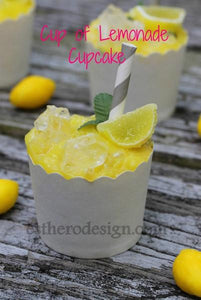 Cup of Lemonade Cupcake