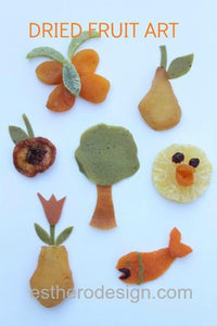 Dried Fruit Art