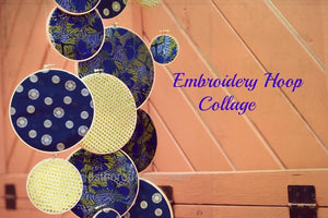 Embroidery Hoop Sukkot Decor-3 Ways