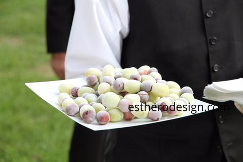 Frozen Grapes On Skewers