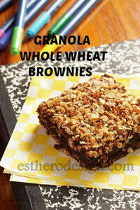 Granola Whole Wheat Brownies