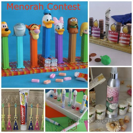 Hanukkah Party Menorah Contest