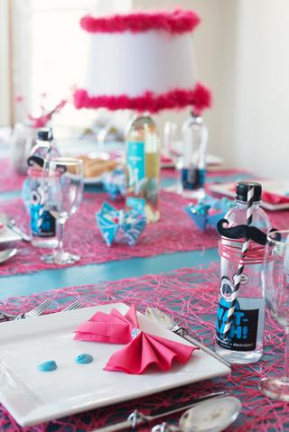Purim Table Setup