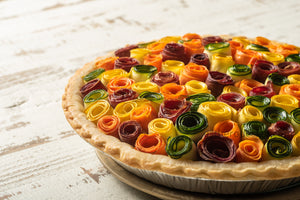 Rosette Vegetable Pie