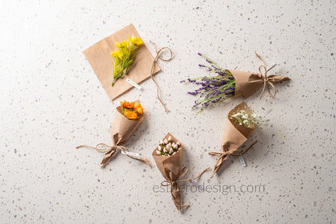 Mini Bouquet Seating Cards