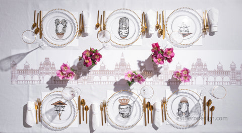 Megilla Tablescape