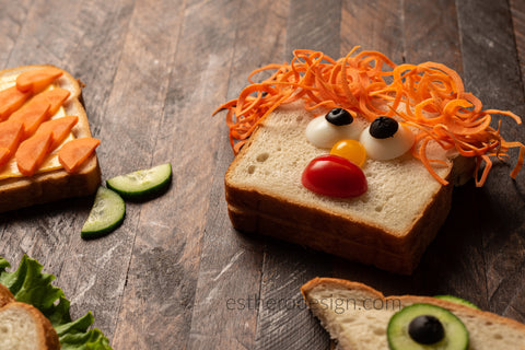Funny Face Sandwiches