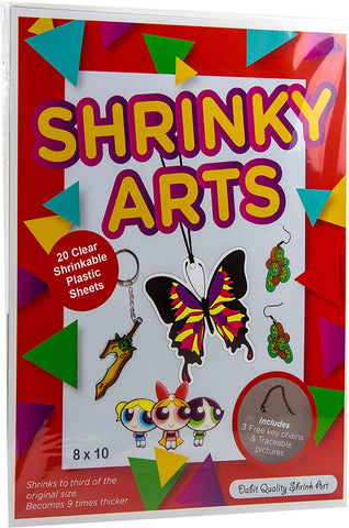 Dabit Shrinky Art Paper