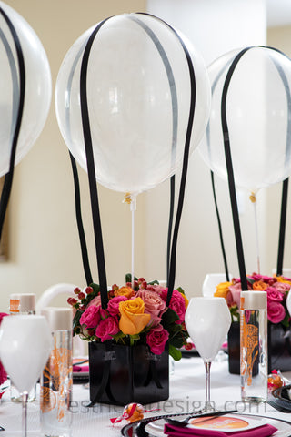 Up, Up and Away Purim Tablescape