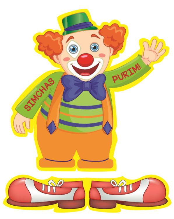 clown printable