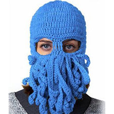 Knitted Octopus Mask
