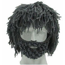 Knitted Beard Hat