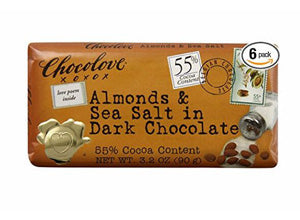 Chocolove Almond and Sea Salt Dark Chocolate