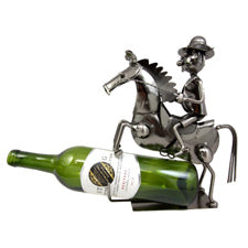 Haman on Horse Wine Holder