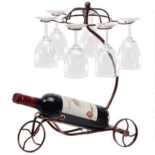 Tricycle Wine and Glass Holder