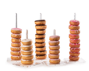 Clear Acrylic Donut Stands
