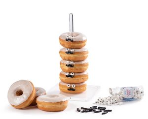 Individual Clear Acrylic Donut Stand
