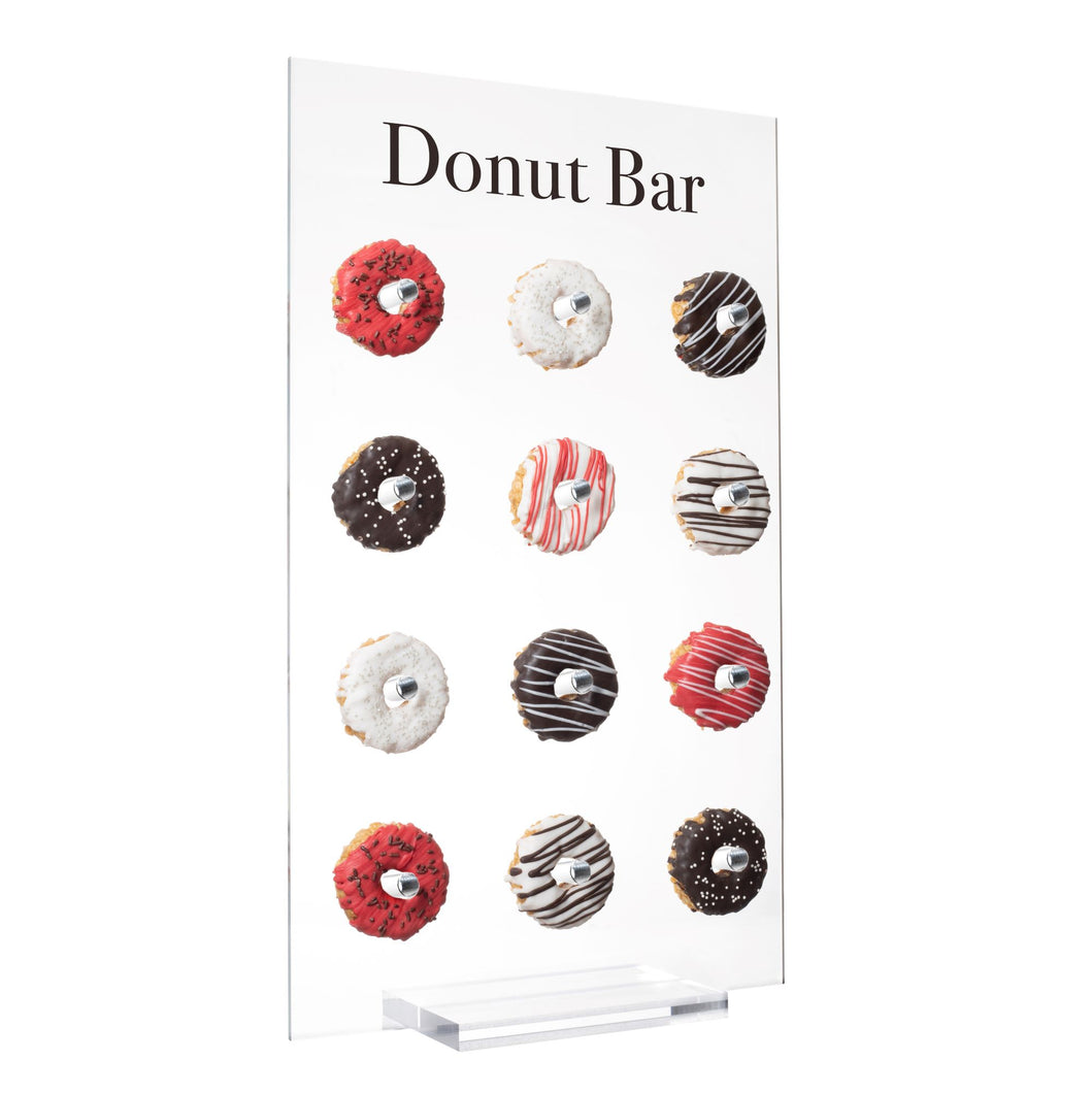 EstherO Tabletop Size Acrylic Donut Display Wall