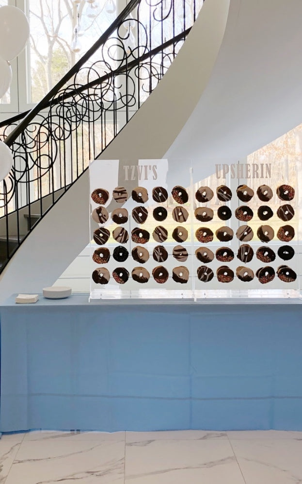 Acrylic Donut Wall Display Crafts By Esther O