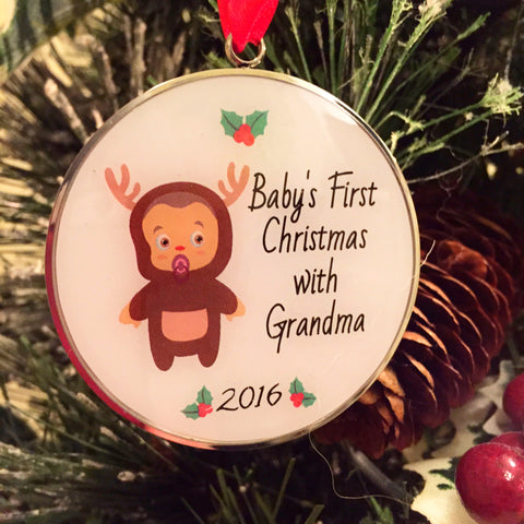 Baby's First Christmas - Ornament