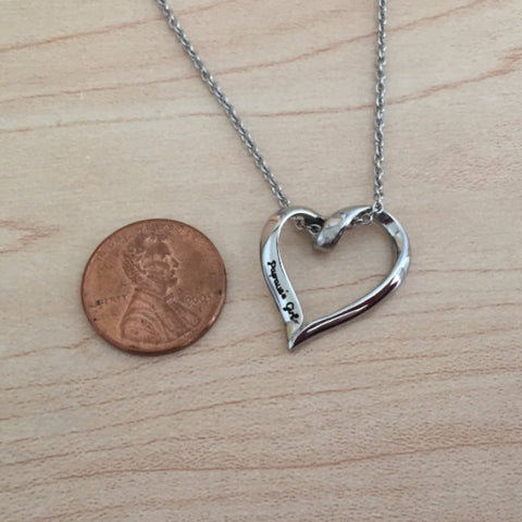 Papaw's Girl - Heart Necklace