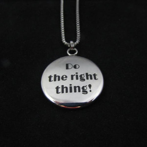 Do the Right Thing! - Reversible Necklace