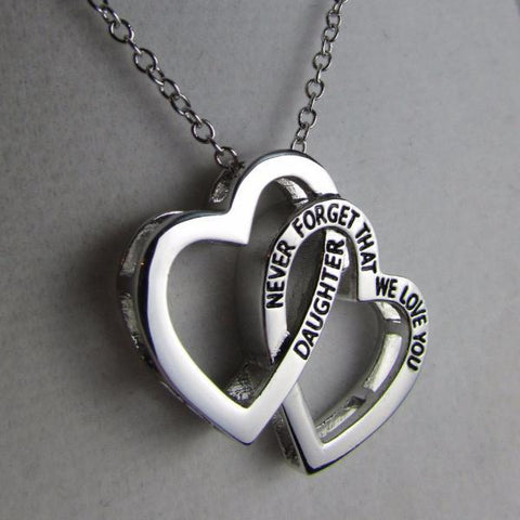 Daughter, Never Forget That We Love You - Necklace