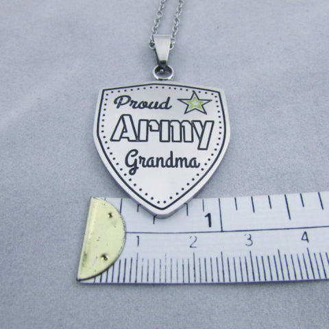 Proud Army Grandma - Necklace