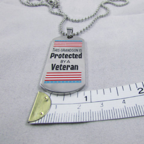 This Grandson is Protected by a Veteran - Exclusive by Deserves