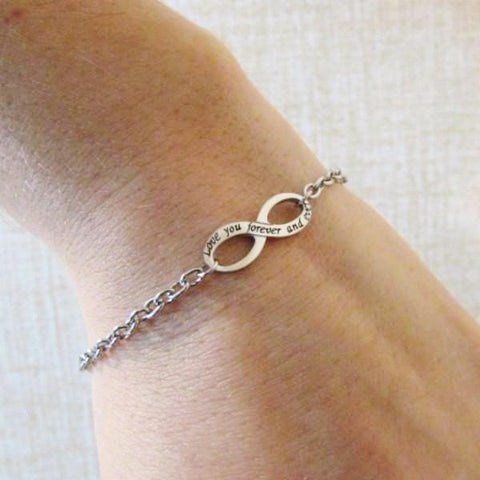Love you Forever and Ever- Infinity Bracelet