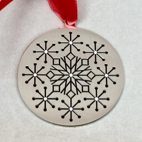 Granddaughter, Like a snowflake... Christmas Ornament