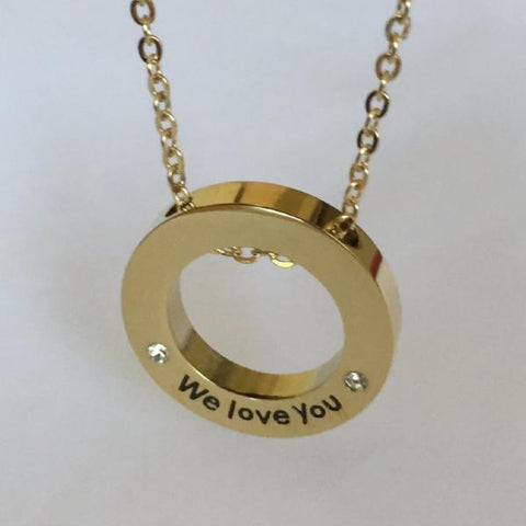 We Love You - Necklace