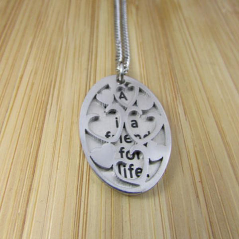 A Sister is a Friend For Life - Necklace