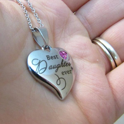 Best Daughter Ever - Necklace