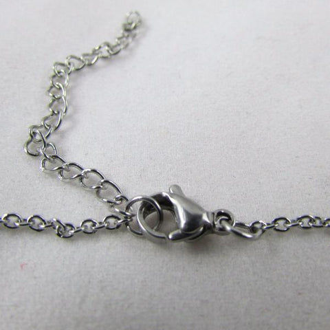 The Love Between a Mother and Daughter is Forever & Ever - Necklace, silvertone