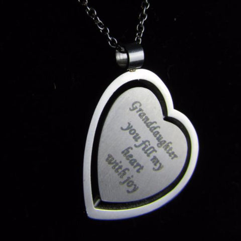 Granddaughter You Fill My Heart With Joy - Necklace Collection